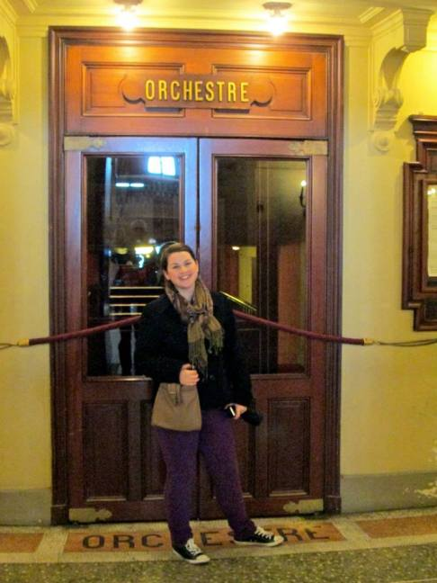 Opera Garnier in Paris. Maybe someday I'll be behind those doors...!